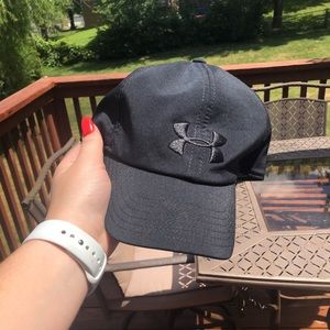 Black Women's Under Armour Hat